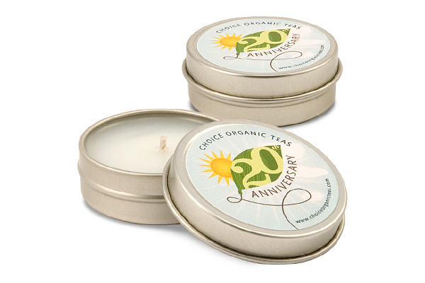 1 oz. Wide Round Soy Travel Tin